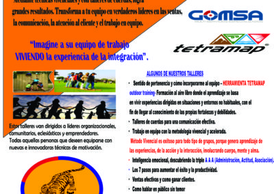 Poster Promocional Outdoor Training 2